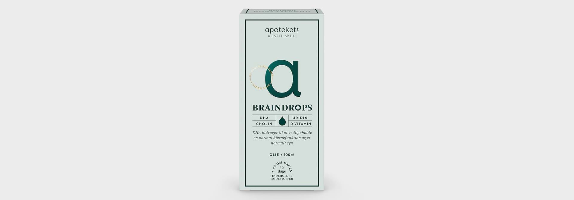 Søg støtte til 'BrainDrops'